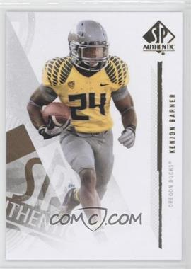 2013 SP Authentic - [Base] #24 - Kenjon Barner