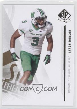 2013 SP Authentic - [Base] #35 - Aaron Dobson