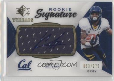 2013 SP Authentic - Rookie Threads Autograph Jerseys #RT-KA - Keenan Allen /275