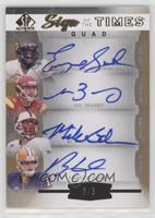Matt Barkley, Mike Glennon, Ryan Nassib, Geno Smith /3