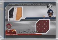 Geno Smith, Matt Barkley /25