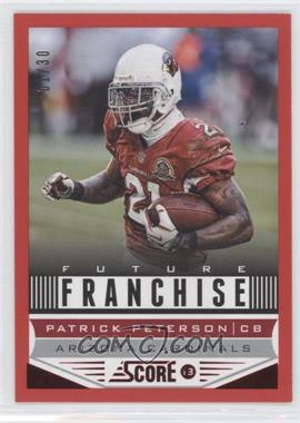 2013 Score - [Base] - Red Zone #299 - Patrick Peterson /30