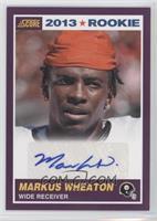 Markus Wheaton #/49