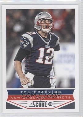 2013 Score - [Base] #123 - Tom Brady