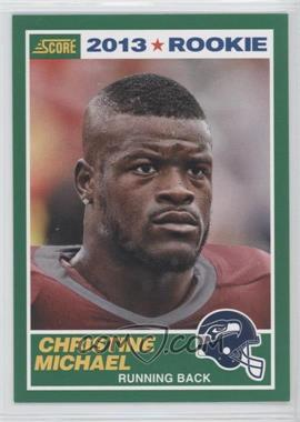 2013 Score - [Base] #345 - Christine Michael