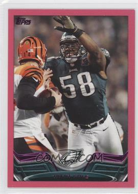 2013 Topps - [Base] - BCA Border #364 - Trent Cole /399