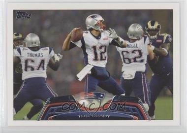 new arrival ad058 9a250 2013 Topps - [Base] #100.1 - Tom Brady (White Away Jersey)