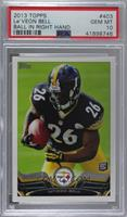 Le'Veon Bell (Ball in Right Hand) [PSA 10 GEM MT]