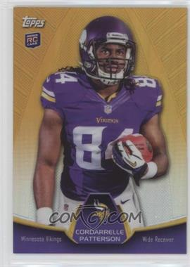 2013 Topps - Blaster Box Holiday Mega Rookie Refractors #MBC-CP - Cordarrelle Patterson
