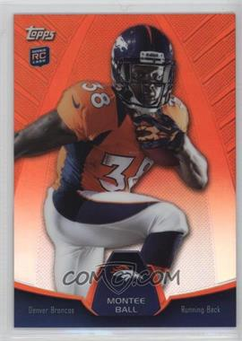 2013 Topps - Blaster Box Holiday Mega Rookie Refractors #MBC-MB - Montee Ball
