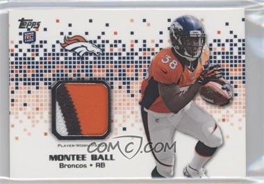 2013 Topps - Rookie Patch #RP-MBA - Montee Ball