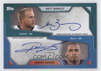 Robert Woods, Matt Barkley /25