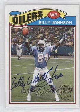 2013 Topps Archives - Fan Favorites Autographs #FFA-BJ - Billy Johnson