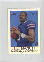 EJ Manuel #/99