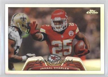 2013 Topps Chrome - [Base] - Refractor #192 - Jamaal Charles