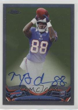 2013 Topps Chrome - [Base] - Rookie Autographs #197 - Marquise Goodwin /600
