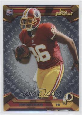 2013 Topps Finest - [Base] #123 - Jordan Reed