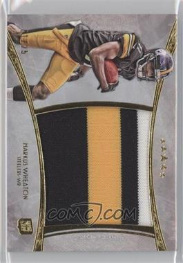 2013 Topps Five Star - Jumbo Jersey Relics - Gold Patch #FSJJR-MW - Markus Wheaton /25