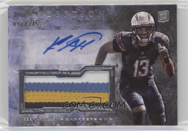2013 Topps Inception - Autograph Jumbo Patch #IAJP-KA - Keenan Allen /345
