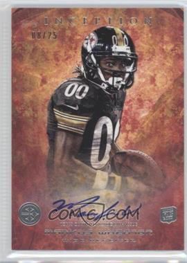 2013 Topps Inception - [Base] - Red #114 - Markus Wheaton /25