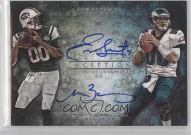 2013 Topps Inception - Dual Rookie Autograph #DRA-SB - Geno Smith, Matt Barkley /25