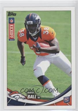 2013 Topps Kickoff - [Base] #4 - Montee Ball