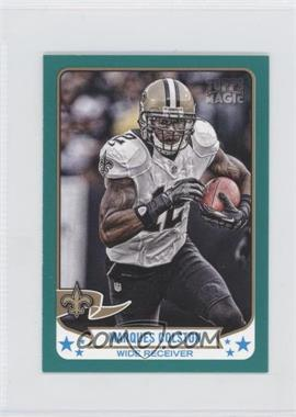 2013 Topps Magic - [Base] - Mini Green #288 - Marques Colston