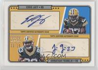 Eddie Lacy, Johnathan Franklin /25