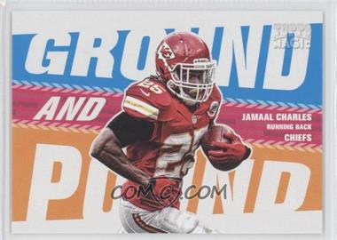 2013 Topps Magic - Ground and Pound #GAP-JC - Jamaal Charles