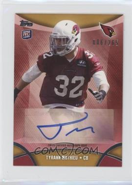 2013 Topps Mini - Autographs #MA-TM - Tyrann Mathieu /265