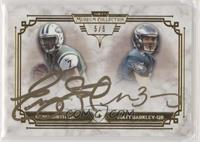 Geno Smith, Matt Barkley #/5