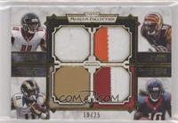 Julio Jones, A.J. Green, Tavon Austin, DeAndre Hopkins #/25
