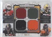 Stepfan Taylor, Johnathan Franklin, Le'Veon Bell, Montee Ball #/75