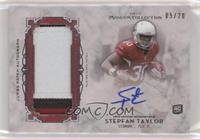 Stepfan Taylor #/20
