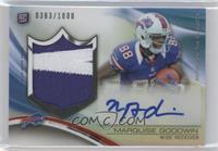 Marquise Goodwin #/1,000