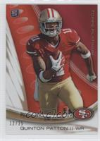 Quinton Patton /25