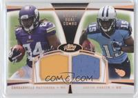 Cordarrelle Patterson, Justin Hunter /25