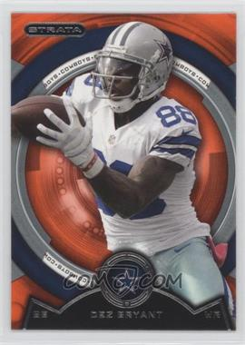 2013 Topps Strata - [Base] - Topaz Orange #130 - Dez Bryant
