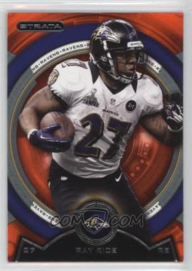 2013 Topps Strata - [Base] - Topaz Orange #138 - Ray Rice