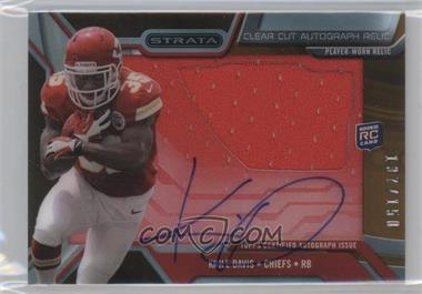 2013 Topps Strata - Clear Cut Autograph Rookie Relics - Bronze #CCAR-KD - Knile Davis /150