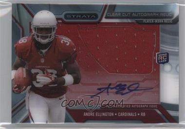 2013 Topps Strata - Clear Cut Autograph Rookie Relics #CCAR-AE - Andre Ellington