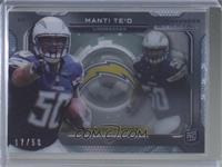 Manti Te'o [Good to VG‑EX] #/50