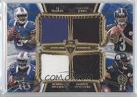 EJ Manuel, Landry Jones, Robert Woods, Markus Wheaton #/15