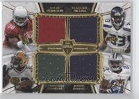 Andre Ellington, Christine Michael, Johnathan Franklin, Joseph Randle /25