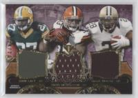 Eddie Lacy, Trent Richardson, Mark Ingram /27