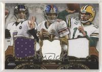 Joe Flacco, Eli Manning, Aaron Rodgers #/36