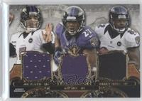 Joe Flacco, Ray Rice, Torrey Smith #/36