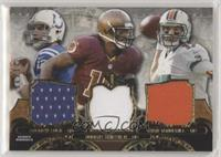 Andrew Luck, Robert Griffin III, Ryan Tannehill [EX to NM] #/36