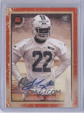 2013 Topps Turkey Red - [Base] - Autographs [Autographed] #17 - Jamar Taylor