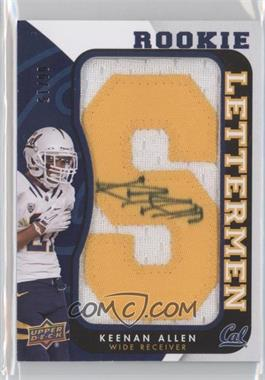 2013 Upper Deck - Rookie Lettermen Autographs #RL-KA - Keenan Allen /15